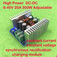 20A DC-DC 5V 12V 18V 24V Buck Down Adjustable Charging Module Constant Current