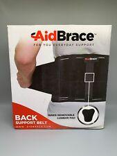 AidBrace Back Brace Support Belt Lower Back Pain Relief Herniated Disc 2XL/3XL
