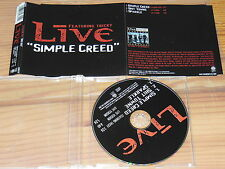 LIVE & TRICKY - SIMPLE CREED  / 3 TRACK MAXI-CD 2001