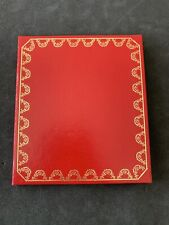 Cartier Santos Vendome Operating Instructions Manual Book And Cover