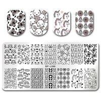 BORN PRETTY Nails Stamping Plates Animals Nail Art Image Templates Stencils DIY