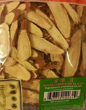 SLICED DRIED CHINESE LICORICE ROOT GANCAO 甘草 4OZ/113gr  US SELLER! FREE SHIPPING