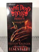 Living Dead Dolls: Nightmare On Elm Street - Freddy Krueger  (2010)  MEZCO