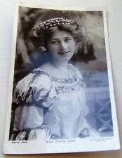 EDWARDIAN ACTRESS MISS PHYLLIS DARE ROTARY DAVIDSON PHOTOGRAPHIC POSTCARD 1907