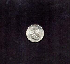 UNITED STATES 1963-P FRANKLIN HALF DOLLAR.  MINT STATE. B-U-T-FUL. *4