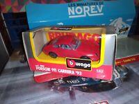 BURAGO 1:43 PORSCHE 911 CARRERA '93 NEUF EN BOITE