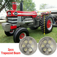2pcs PAR36 Round LED Trapezoid Distance Beam Bulb Truck Tractor Work Lights 12V