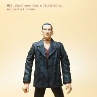 Doctor Dr Who The Ninth 9TH Doctor  Action figure fase nose lost a little color