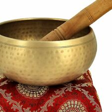 Chakra Tibetan Meditation Yoga Singing Bowl Traditional Design Tibetan Buddhist