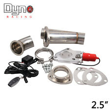 """2.5"""" Remote Electric Exhaust Catback/Downpipe Cutout/E-Cut Out Valve System Kit"""