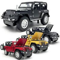 1:32 Jeep Rubicon 1941 SUV Die Cast Modellauto Auto Spielzeug Model Sammlung