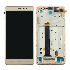 For Xiaomi Redmi Note 3 LCD Display Touch Screen Digitizer Assembly +FRAME GOLD