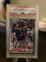 VLADIMIR GUERRERO JR 2019 Topps Holiday SNOWFLAKE SP RC! PSA MINT 9! BLUE JAYS!