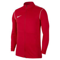 Nike Dry Park 20 Knit Mens Red Warm Up Top Training Sports Track Jacket