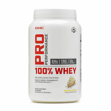 GNC Pro Performance® 100% Whey - Banana Cream, 25 Servings