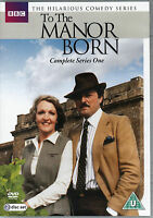 A The Manor Born Series One 1 Peter Bowles Penélope Keith BBC 2 Disco DVD L. New