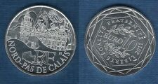 10 Euro Série des Régions 2011 Monuments Argent SUP - Nord Pas de Calais