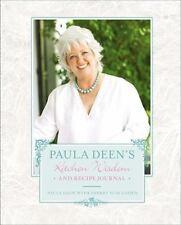 Paula Deen's Kitchen Wisdom and Recipe Journal, Deen, Paula, Good Condition, Boo