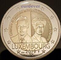 2 Euro Gedenkmünze Luxemburg Luxembourg 2019 Charlotte UNC Mzz Brücke Bridge