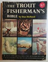 The Trout Fisherman's Bible By Dan Holland Paperback Vintage Book 1962