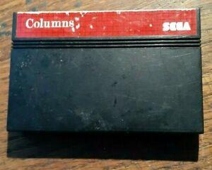 Columns (Sega Master, 1990) VG Shape & Tested