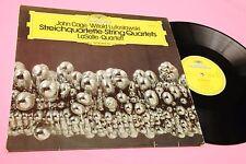 JOHN CAGE LP STREICHQUARTETTE EX AVANTGARDE CONTEMPORARY !!!!!!!!!!!!!!