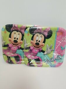 Disney Minnie Mouse Bow-tique 8ct. Party Plates Birthday lot of 2
