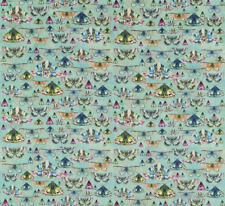 Designers Guild Fabric Issoria Jade Velvet Butterfly Design Fdg2566/01