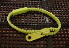 Pulsera De Cremallera Zip-Verde claro