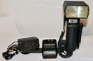 Metz 70MZ-5 + SCA 3402,+ Control Unit + Charger + Bracket   Nikon I-TTL AS IS