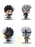 2pcs/set Nendoroid Anime Naruto Hatake Kakashi Uchiha Obito PVC Figure Toy 10cm