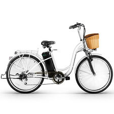 "Nakto 26"" 250W Cargo-Electric Bicycle 6 speed e-Bike 36V10A Lithium battery"