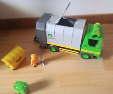 playmobil lot camion poubelle 3121