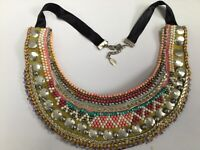 NECKLACE BY ACCESSORIZE MULTI BEAD RRP £32 (H408A)