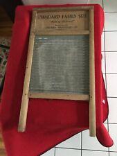 "New listing Vintage Standard Family Size ""Made of Hardwood"" - Carolina Washboard Company"