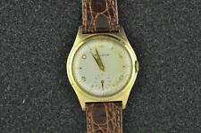VINTAGE MENS BULOVA WRISTWATCH FROM 1957 CALIBER 11AC KEEPING TIME