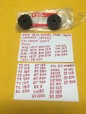 SUZUKI GAS TANK CUSHIONS 09329-10007 TM400,TS185,GT750,GT380,AHRMA