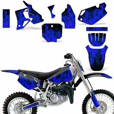 Graphic Kit Honda CR 80 MX Dirt Pit Bike Decals Sticker Wrap CR80 96-02 ICE BLUE