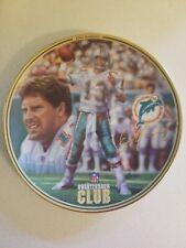 "Dan Marino ""Nfl Quarterback Club"" Bradford Exchange 1996 Collector 8.25"" Plate"