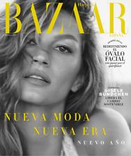 Magazine Harper Bazaar Spain Gisèle Bündchen january 2019 enero espana NEW cover
