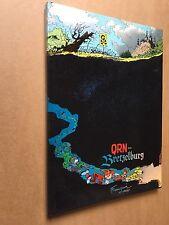 Franquin  Spirou - QRN sur Bretzelburg - Edition intégrale de 1987 avec jaquette