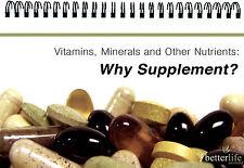 Why Supplement? Flipchart