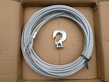 WINCH CABLE  WIRE ROPE  26M x 9.5MM, RATED TO 13000LB