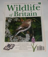 WILDLIFE OF BRITAIN ISSUE 26 - FLYCATCHERS/PILOT WHALE/MARSH ORCHIDS