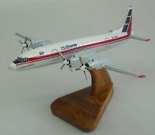 IL-18 Ilyushin Cubana IL18 Airplane Desktop Wood Model Big New