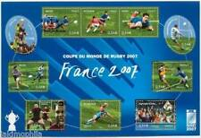 STAMP / TIMBRE FRANCE NEUF BLOC N° 110 ** SPORT / VI COUPE DU MONDE DE RUGBY
