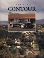 1996 Ford Contour CDN Sales Brochure Book