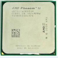 HDT55TWFK6DGR AMD Phenom II x6 1055T Hex Core 2.8GHz 6MB 95W Socket AM3 E0 CPU