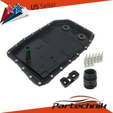 6HP26 AT Trans case Oil Pan with Gasket, Drain Plug, Bolts, O-ring and Adaptor