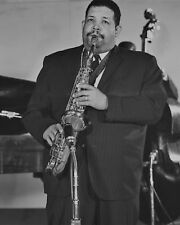 Jazz Saxophonist Julian 'Cannonball' Adderley Glossy 8x10 Photo Print Poster